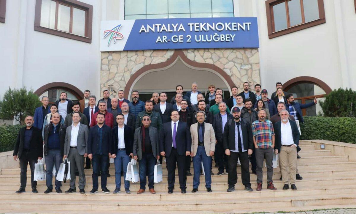 Antalya Teknokent Teknoloji Vadisi Hayata Geçiyor