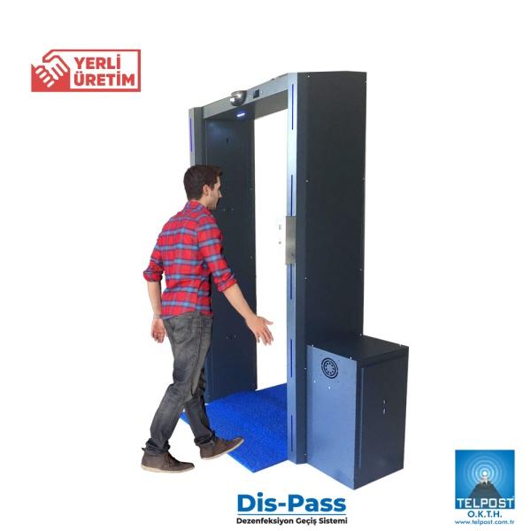 DisPass Dezenfeksiyon Geçiş Sistemi