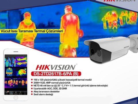 HIKVISION DS-2TD2617B-6/PA Termal Kamera