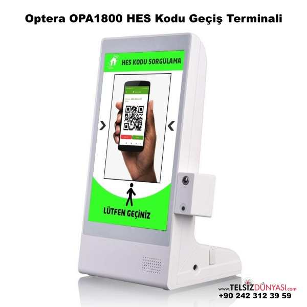 Optera OPA1800 HES Kodu Geçiş Terminali