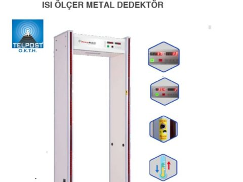 POWER GUARD TMPR 200 PLUS Isı Ölçer Metal Dedektör