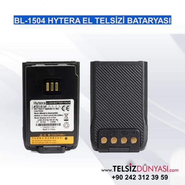 BL-1504 HYTERA EL TELSİZİ BATARYASI