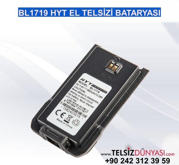 BL1719 HYT EL TELSİZİ BATARYASI