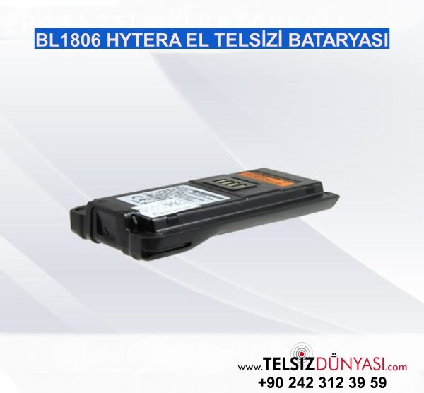 BL1806 HYTERA EL TELSİZİ BATARYASI