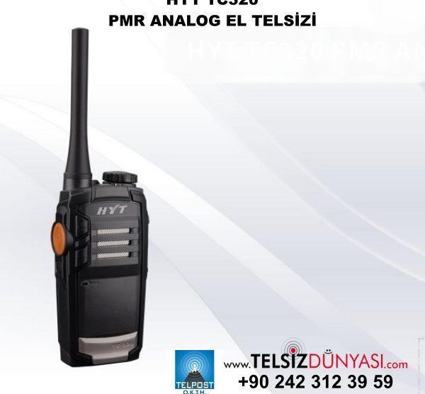 HYT TC320 PMR ANALOG EL TELSİZİ