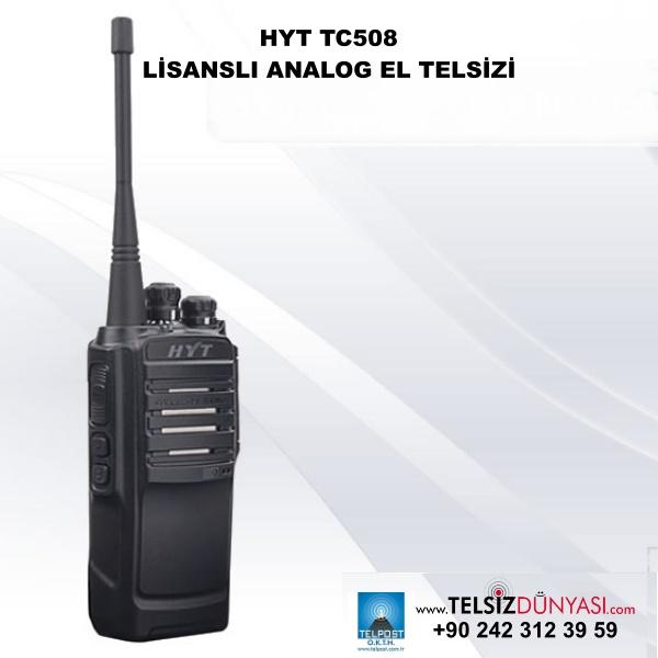 HYT TC508 LİSANSLI ANALOG EL TELSİZİ