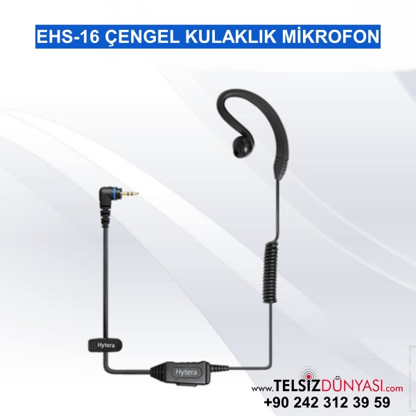 EHS-16 ÇENGEL KULAKLIK MİKROFON
