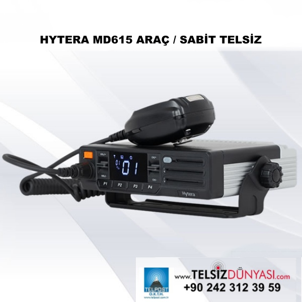 HYTERA MD615 ARAÇ / SABİT TELSİZ