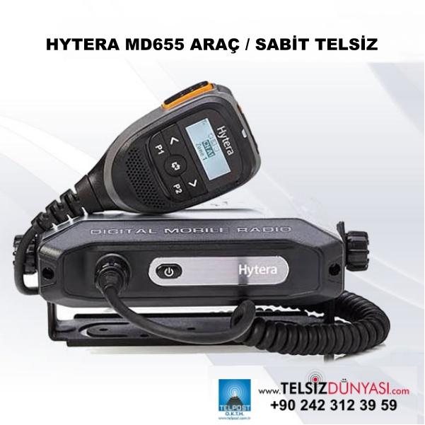 HYTERA MD655 ARAÇ / SABİT TELSİZ