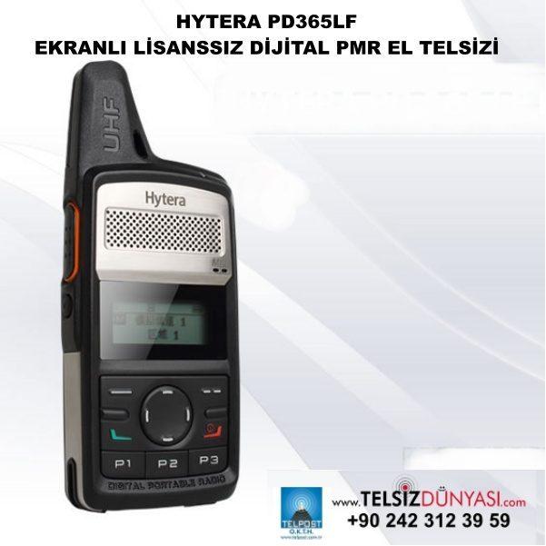 HYTERA PD365LF EKRANLI LİSANSSIZ DİJİTAL PMR EL TELSİZİ