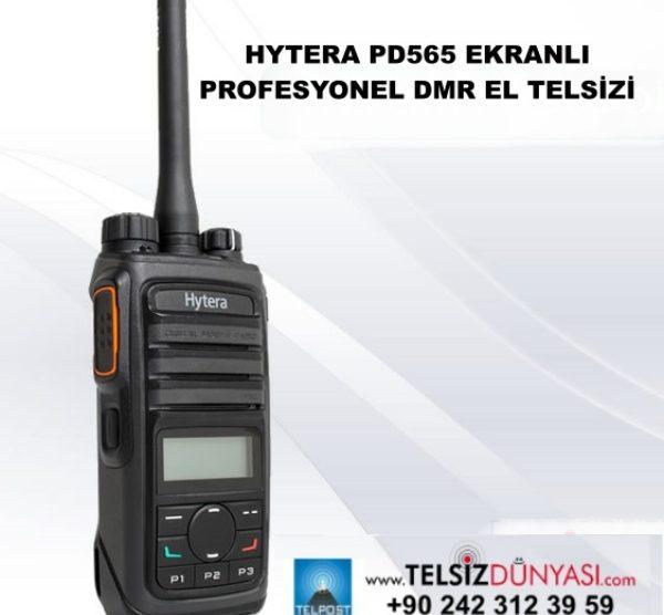 HYTERA PD565 EKRANLI PROFESYONEL DMR EL TELSİZİ