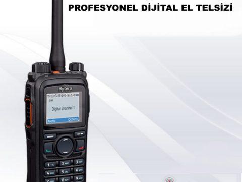 HYTERA PD785 EKRANLI PROFESYONEL DİJİTAL EL TELSİZİ