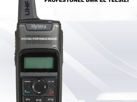 HYTERA PD375 EKRANLI PROFESYONEL DMR EL TELSİZİ