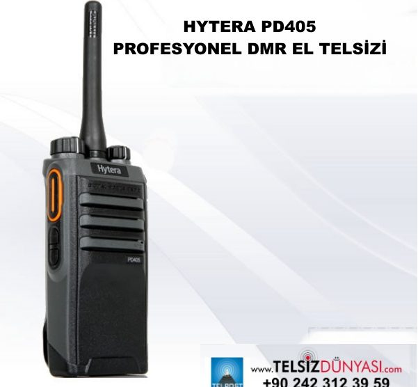 HYTERA PD405 PROFESYONEL DMR EL TELSİZİ