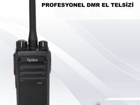 HYTERA PD505 PROFESYONEL DMR EL TELSİZİ