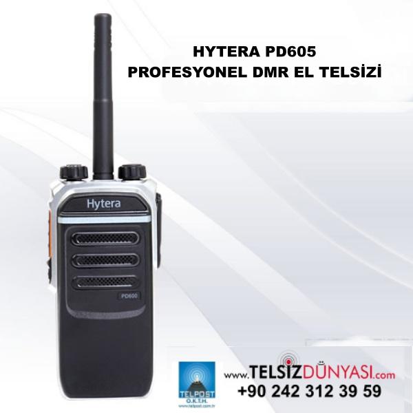 HYTERA PD605 PROFESYONEL DMR EL TELSİZİ