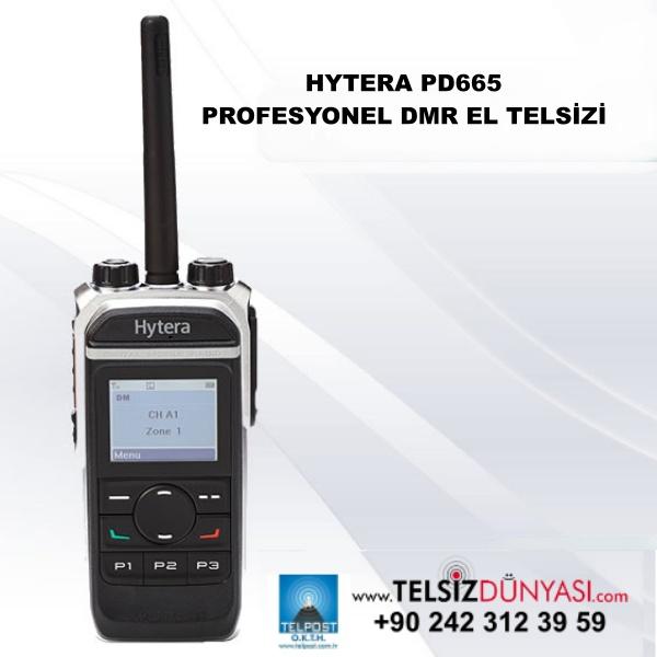 HYTERA PD665 PROFESYONEL DMR EL TELSİZİ