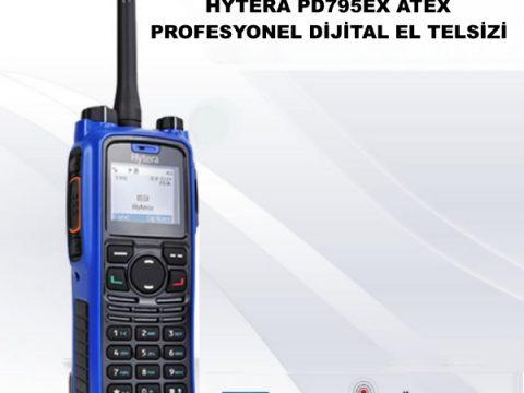 HYTERA PD795EX ATEX PROFESYONEL DİJİTAL EL TELSİZİ