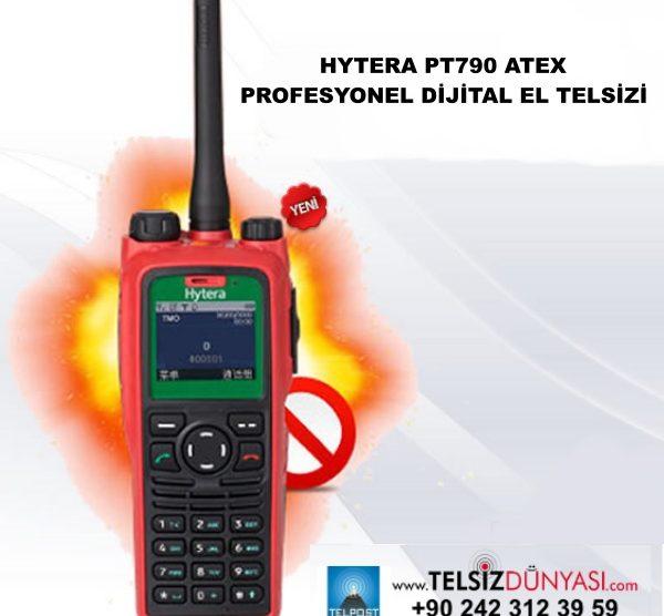 HYTERA PT790 ATEX PROFESYONEL DİJİTAL EL TELSİZİ