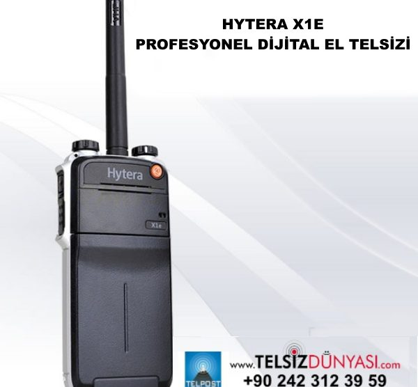HYTERA X1E PROFESYONEL DİJİTAL EL TELSİZİ