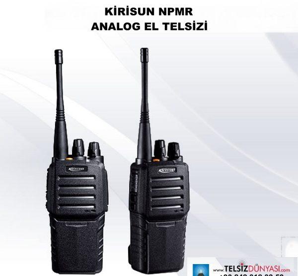 KİRİSUN NPMR ANALOG EL TELSİZİ