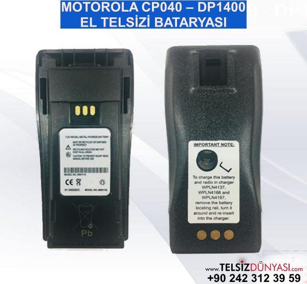MOTOROLA CP040 – DP1400 EL TELSİZİ BATARYASI