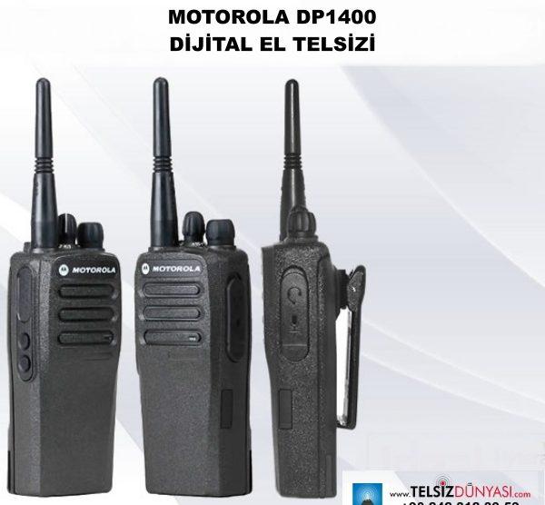 MOTOROLA DP1400 DİJİTAL EL TELSİZİ