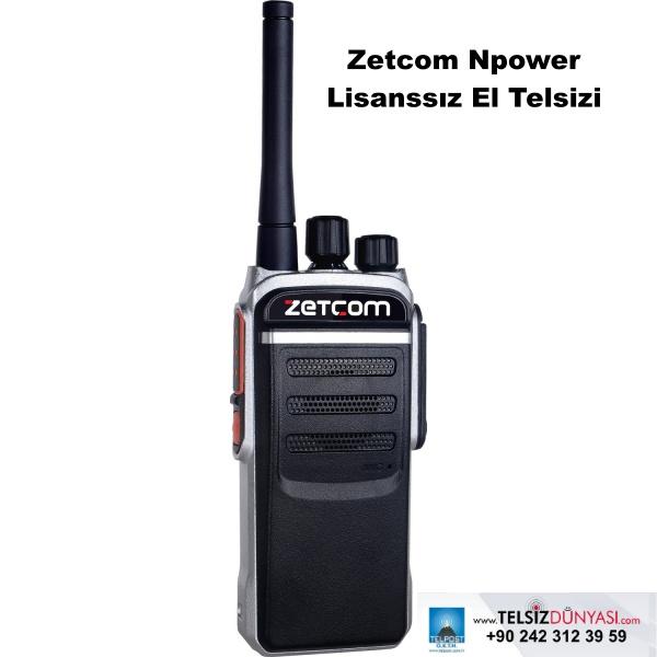 Zetcom Npower Lisanssız El Telsizi